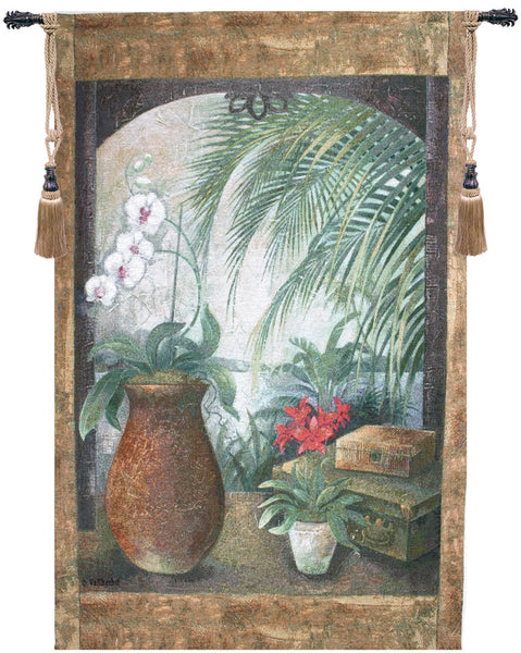 Orchids In Paradise Fine Art Tapestry