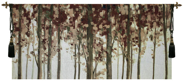 Forest Study Fine Art Tapestry
