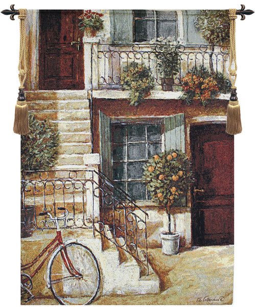 Around The Corner Fine Art Tapestry