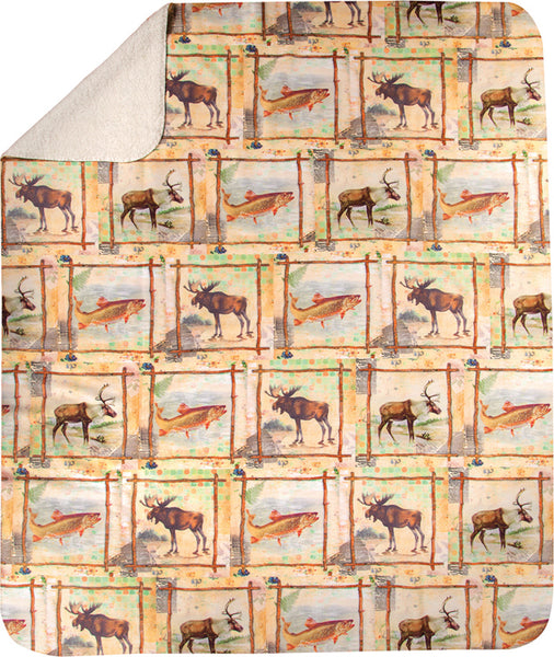 Scrapbook Nature Tapestry Throw
