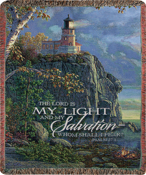 Guiding Light Salvation Tapestry Throw