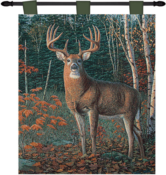 Autumn Sentinel Wallhanging Tapestry Wall Hanging