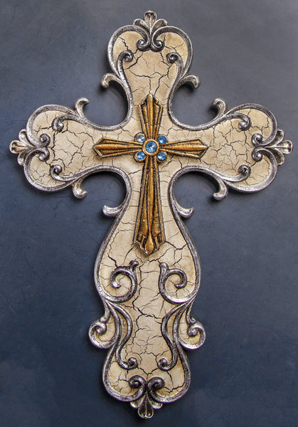 Bronze Cross Wall Art