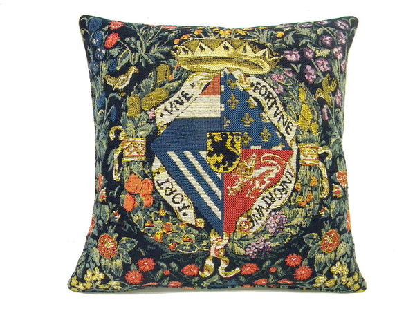 Medieval Crest  European Cushion Cover