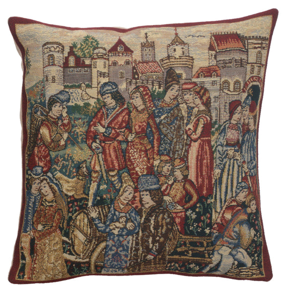 Winemerchants 2 Belgian Cushion Cover