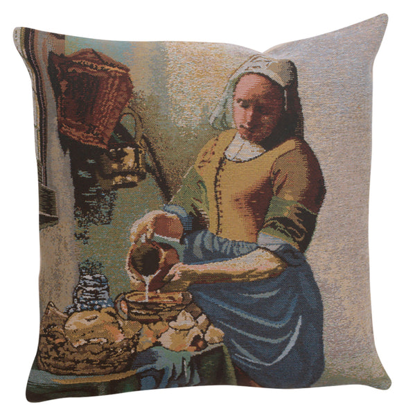 The Servant Girl Belgian Cushion Cover