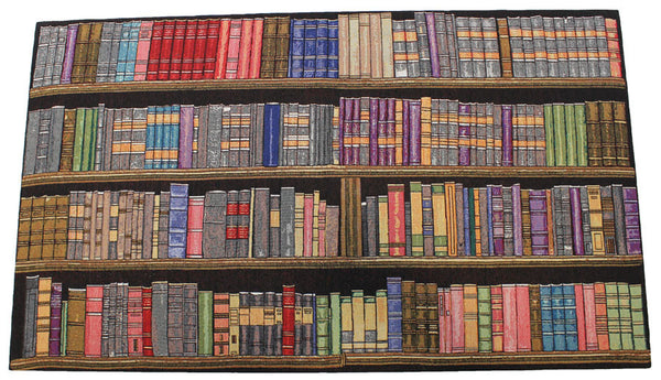 Plethora of Books Stretched Wall Tapestry