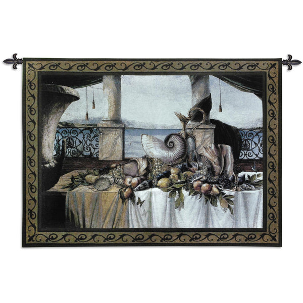 Promessa D'Estate Small Wool and Cotton Tapestry Wall Hanging