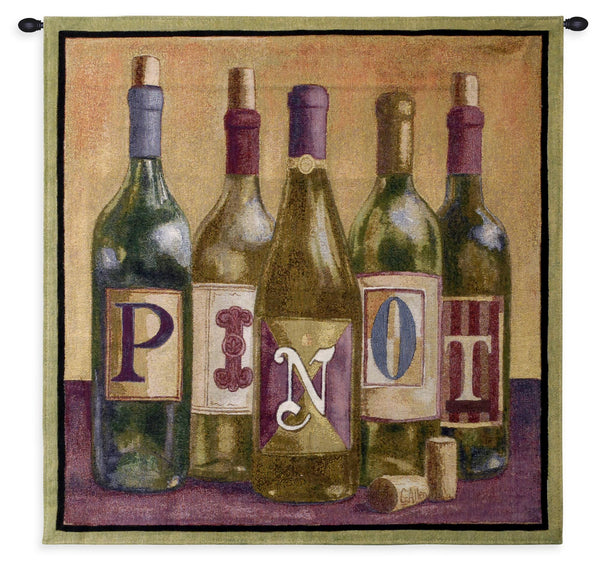 Pinot Tapestry Wall Hanging