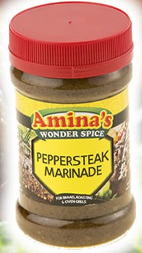 Amina's Pepper Steak Marinade 325g
