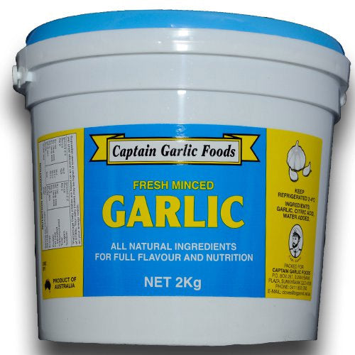 CAPTAIN FRESH MINCED GARLIC