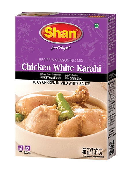 Shan CHICKEN WHITE KARAHI mix 40g