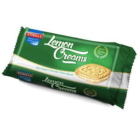 LOBELS LEMON CREAM Biscuits 200G