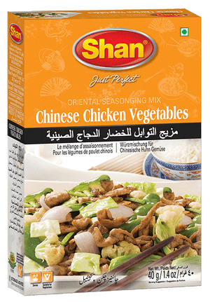SHAN CHINESE CHICKEN VEGETABLES 40G