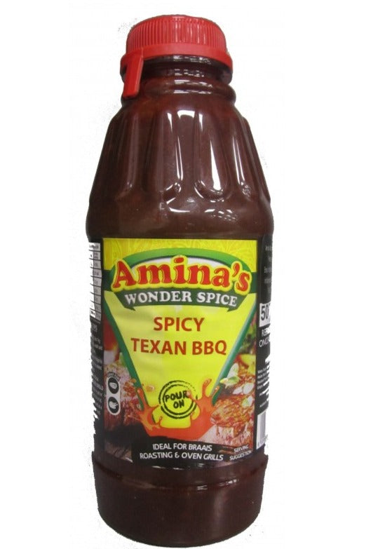 Amina's Spicy Texan BBQ 500ml