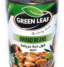 Green Leaf Broad Beans 400g