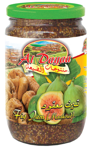 Al Dayaa Whole Fig Jam 800g
