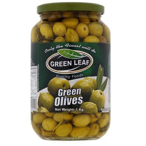 Green Leaf Green Olives 1kg