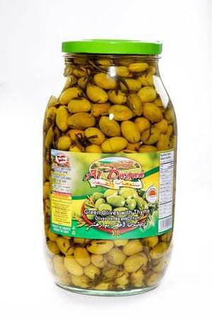 AL DAYAA Green Olives With Thyme