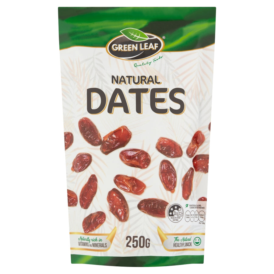 GREEN LEAF Natural Dates Pouch 250g