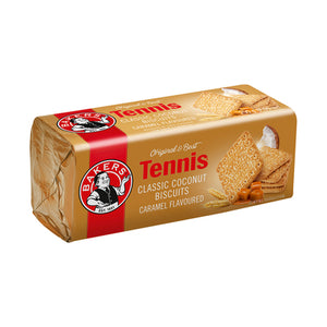 TENNIS CARAMEL FLAVOURED BISCUITS 200g