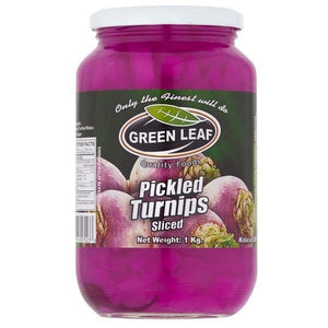 Green leaf Pickled Turnips