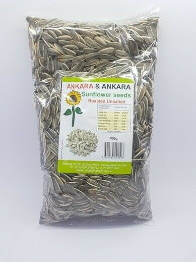 Ankara and Ankara sunflower seeds unsalted 400g