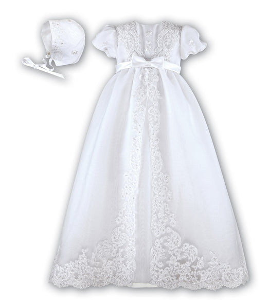 Sarah Louise Christening Gown 001165 White