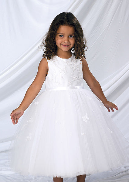 Sarah Louise 070035 Ivory Christening and Special Occasion Dress