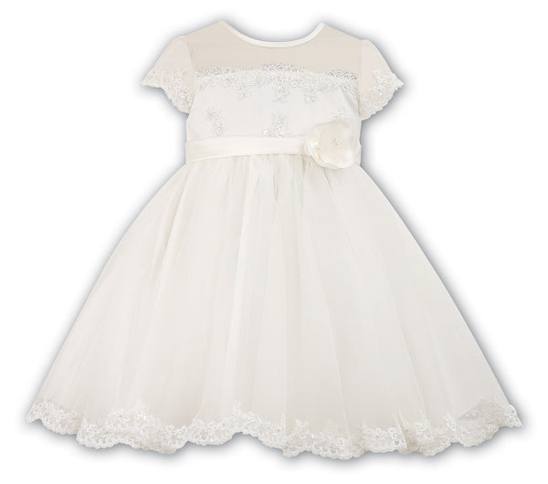 Sarah Louise 070007 Ivory Christening & Special Occasion Dress