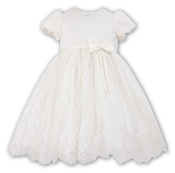 Sarah Louise 070020 Ivory Christening & Special Occasion Dress