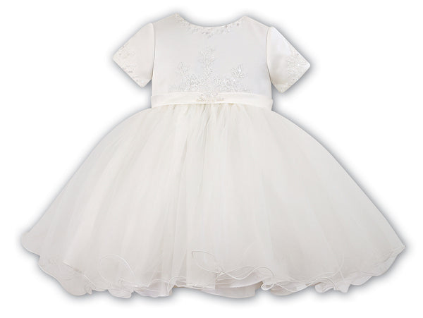 Sarah Louise 070023 Ivory Christening & Special Occasion Dress