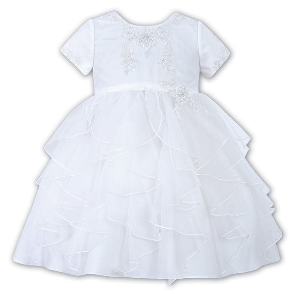 Sarah Louise 070032 White Christening & Special Occasion Dress