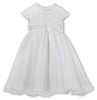 Sarah Louise 070091 Ivory Christening and Special Occasion Dress
