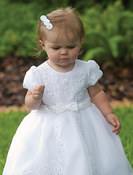 Sarah Louise 070012 Ivory Christening & Special Occasion Dress Ivory