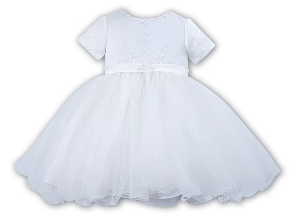Sarah Louise 070023 White Christening & Special Occasion Dress