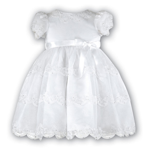 Sarah Louise 070008 Ivory Christening & Special Occasion Dress