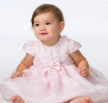 Sarah Louise 070061 White Christening & Special Occasion Dress