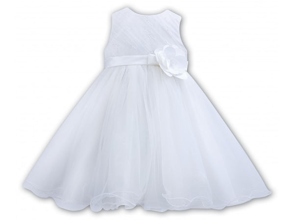 Sarah Louise 070089 White Christening Dress