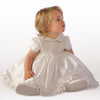 Little Darlings Silk Amelia Christening Dress, Bloomers