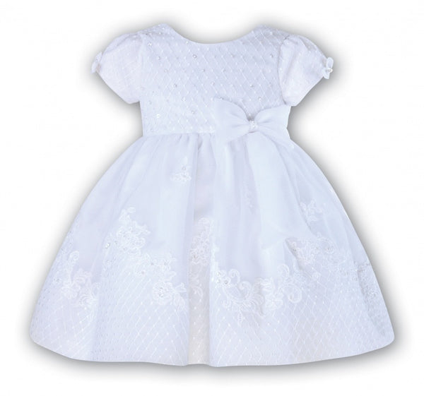 Sarah Louise 8920 ivory Christening Dress