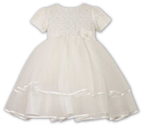 Sarah Louise white Christening Dress 070015