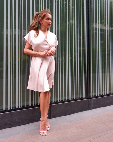 Effortless glam dress