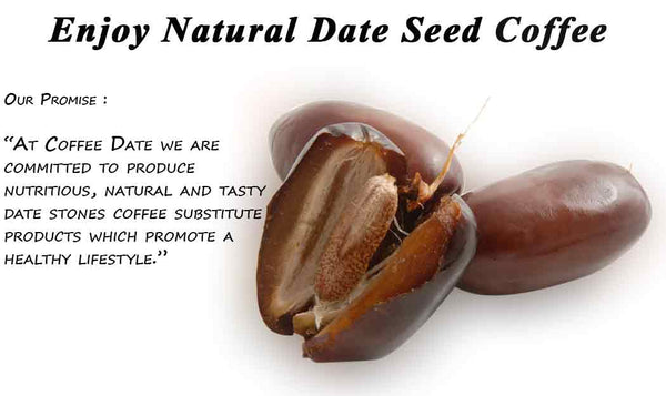 Date Seed Coffee Substitute