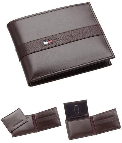 Tommy Hilfiger Mens Ranger Passcase / Brown