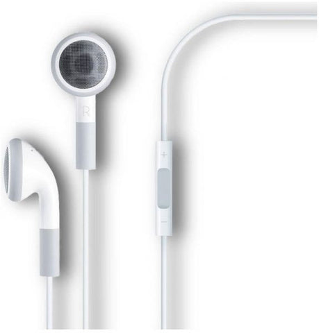 Earphones with Remote and Mic for iPhone/iPod/iPad - Stereo