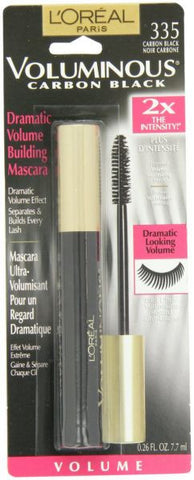 """L'Oreal Paris Voluminous Mascara, Carbon Black, 0.26-Fluid Ounce """