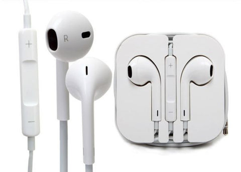 Earbuds Earpods Headphones Remote Mic for iPhone 5 iPods iPad