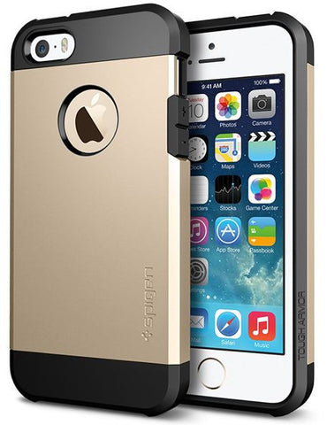 Spigen SGP iPhone 5S / 5 Tough Armor S Case / Cover [Champagne Gold]