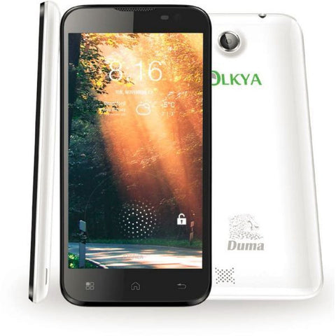 Olkya Duma 90 - 4GB, Android OS, 3G, White